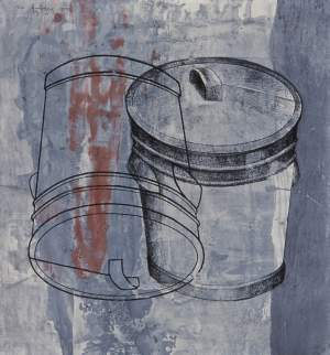 """ROBBEN ISLAND: TRASH CAN"" by Paul Stopforth"